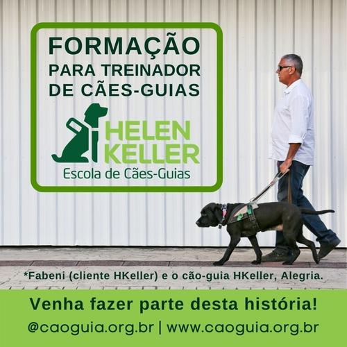 FORMAÇÃO PARA TREINADOR DE CÃES-GUIAS